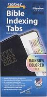 Bible Index Tabs Rainbow