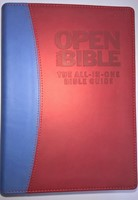 Open Your Bible: The All-In-One Bible Guide Red/Blue IL