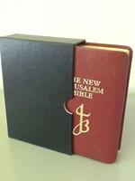 NJB New Jerusalem Bible Pocket, Red (Imitation Leather)