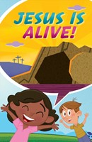 Jesus Is Alive...Happy Easter! (Ats) (Pack Of 25) (Tracts)