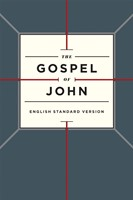 ESV Gospel Of John, Paperback, Cross Design