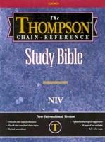 NIV Thompson Chain-Reference Bible, Burgundy