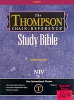 NIV Thompson Chain-Reference Bible (Bonded Leather)