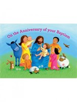 Anniv of Baptism Card BC1A