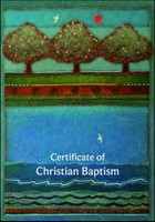 Cert of Christian Baptism B20A