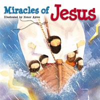 Miracles Of Jesus (Board Book)