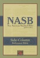NASB Side-Column Reference Wide Margin Bible, Black (Leathertex)