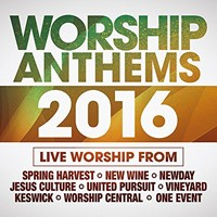Worship Anthems 2016 CD