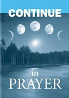 Continue in Prayer: Extra Large Print