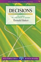 Lifebuilder: Decisions - Seeking God's Guidance