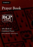 Book Of Common Prayer (BCP) Enlarged Ed. Brown (Leather Binding)
