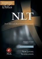 NLT Pitt Minion Reference Bible, Red Letter, Black Imitation (Imitation Leather)