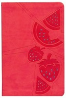 NKJV Girls Single Column Bible, Red