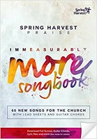 Immeasurably More Songbook 2015