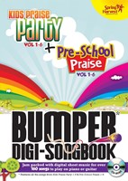Kids Praise Party Bumper Digi-Songbook (CD-Audio)