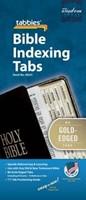 Bible Index Tabs Regular Gold