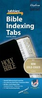 Bible Index Tabs Mini Gold