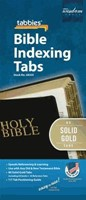 Bible Index Tabs Solid Gold Reg