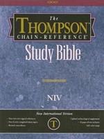 NIV TCR Bible RL TI Ge/Le/Char (Leather Binding)