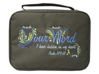 Bible Cover Your Word Med