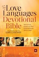 NLT Love Languages Devotional Bible HB