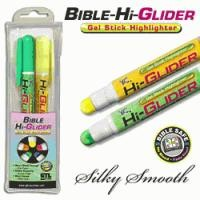 Bible Hi-Glider Yellow/Green Gel Sticks