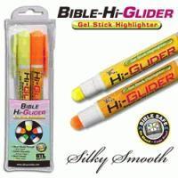 Bible Hi-Glider Yellow/Orange Gel