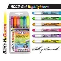 Bible Hi-Glider 6Pk Yellow/Blue/Violet/Green/Pink/Orange