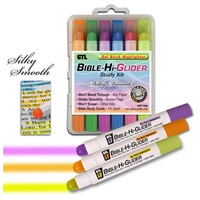 Bible Hi-Glider Gel Stick 6Pk