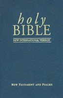 NIV New Testament and Psalms Pocket Version