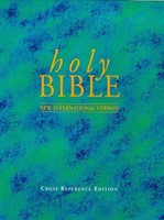 NIV Reference Bible Black