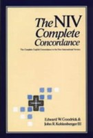 The NIV Complete Concordance (Hard Cover)