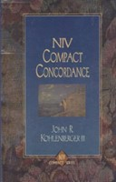 NIV Compact Concordance Bible