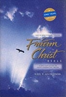 NIV Freedom in Christ Bible (Hard Cover)