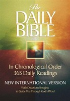 The NIV Daily Chronological Bible (Hard Cover)