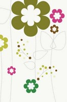 TNIV Personal Satin-Tone Flowers Bible (Hard Cover)