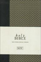 NIV Compact Bible Green Geo (Paperback)