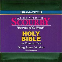 Dramatized KJV Holy Bible on CD New Testament