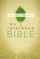 NIV Reference Bible, Giant Print Hardcover (Hard Cover)