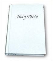 KJV Royal Ruby Presentation Bible, White