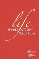 NIV Larger Print Life Application Study Bible (Anglicised)