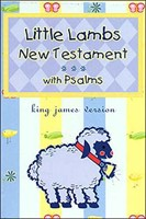 Little Lambs New testament with Psalms KJV (Imitation Leather)