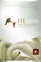 NLT He Cares NT with Psalms and Proverbs (Paperback)