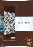 NLT Sanctuary Devotional for Women, Brown (Imitation Leather)