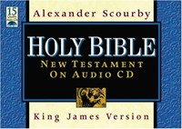 KJV Holy Bible New Testament on Audio CD