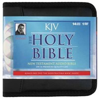 KJV Holy Bible New Testament on Cassette