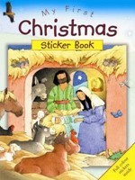 My First Christmas Sticker Book