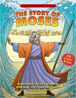 Story Of Moses - Static Sticker Bible Book
