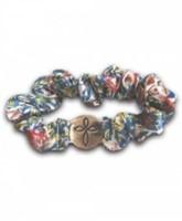 Scrunch Bracelet: Cross