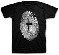 T-Shirt Fingerprint      X-LARGE